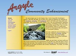 Argyle Community Enhancement homepage