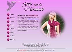 Gifts from the Mermaids homepage