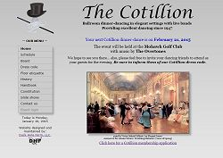 Cotillion homepage